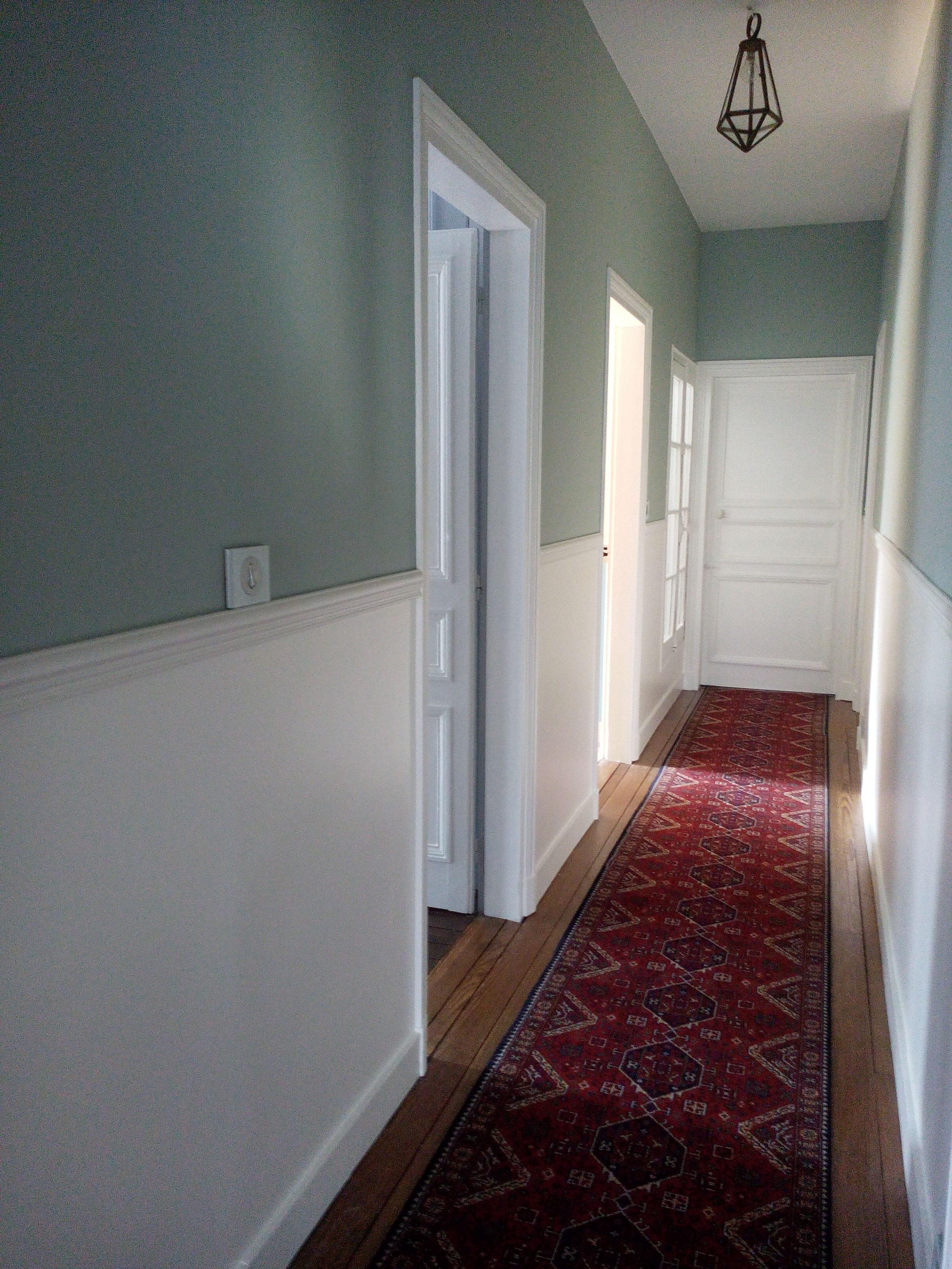 couleur pour couloir  La Poussinire