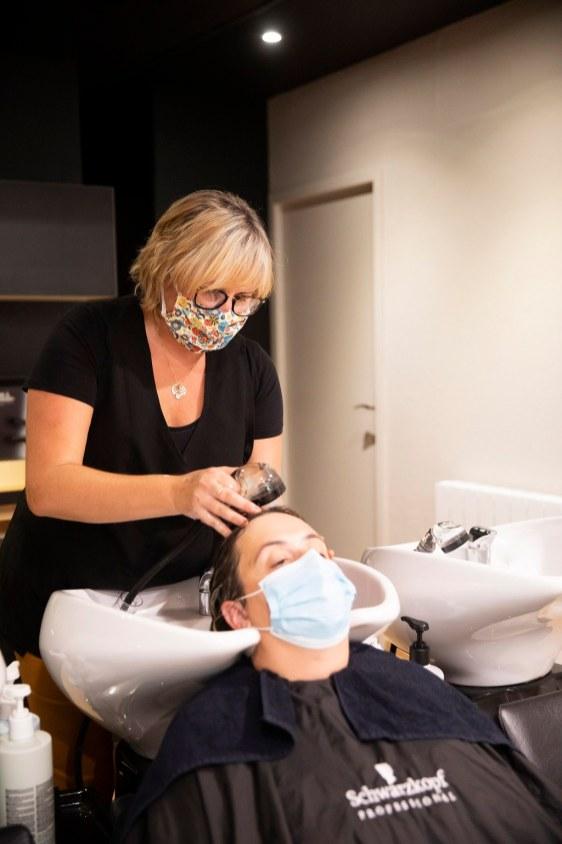 Ambiance douce - Salon de coiffure Authentic Beauty Concept