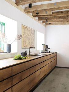 Une cuisine chic et élégante minimaliste