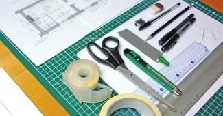 Matériel de maquettiste en architecture