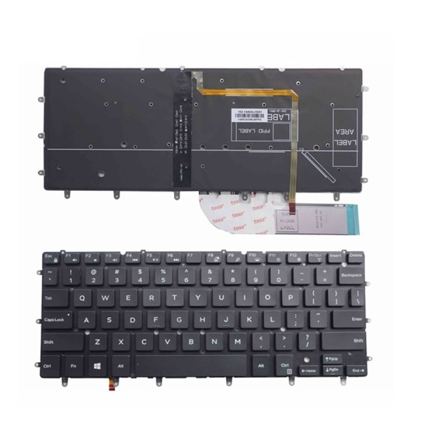 LAPTOP KEYBOARD FOR DELL INSPIRON 7348 WITH BACKLIT