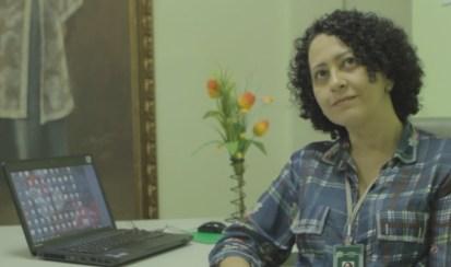 Milena Martins - diretora Giselda Trigueiro