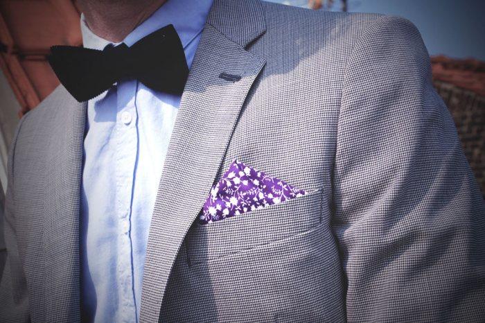 Pochette homme costume mariage