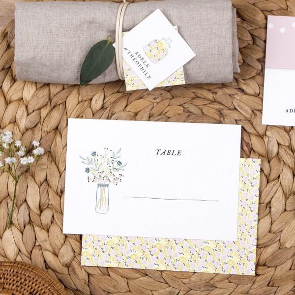 L'atelier Rosemood -  Marque place - Fleurs -  L'apprentie Mariée
