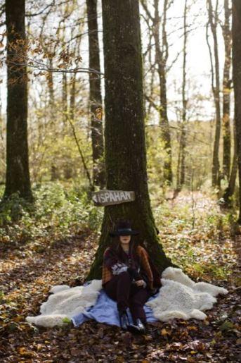 love session dans les bois et avec céline marks