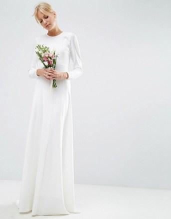 asos-bridal-robe-longue-sirene-avec-empiecement-cousu