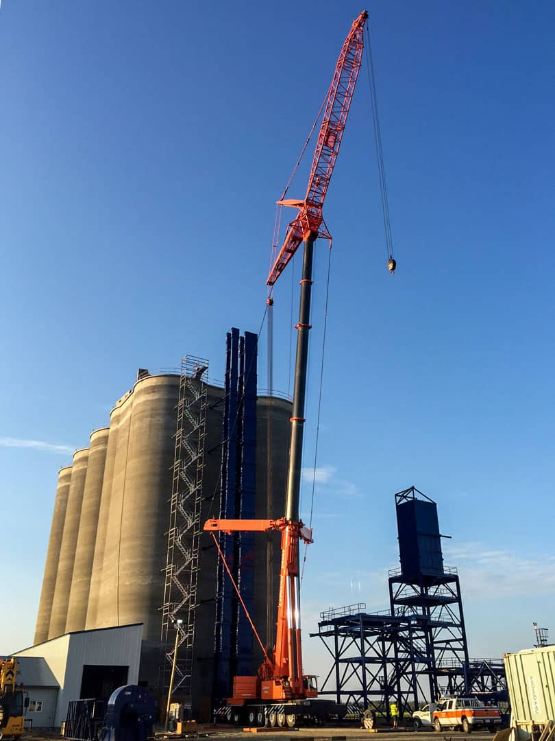 Crane 500 ton