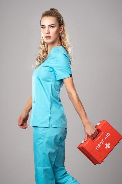 Pyjama medical Miami Profil A Gauche +