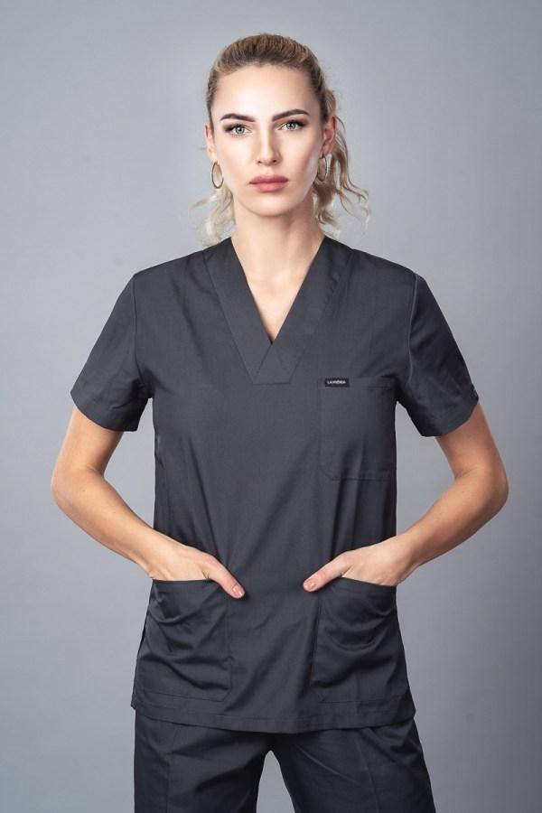 Pyjama medical Iron Gray Face 2