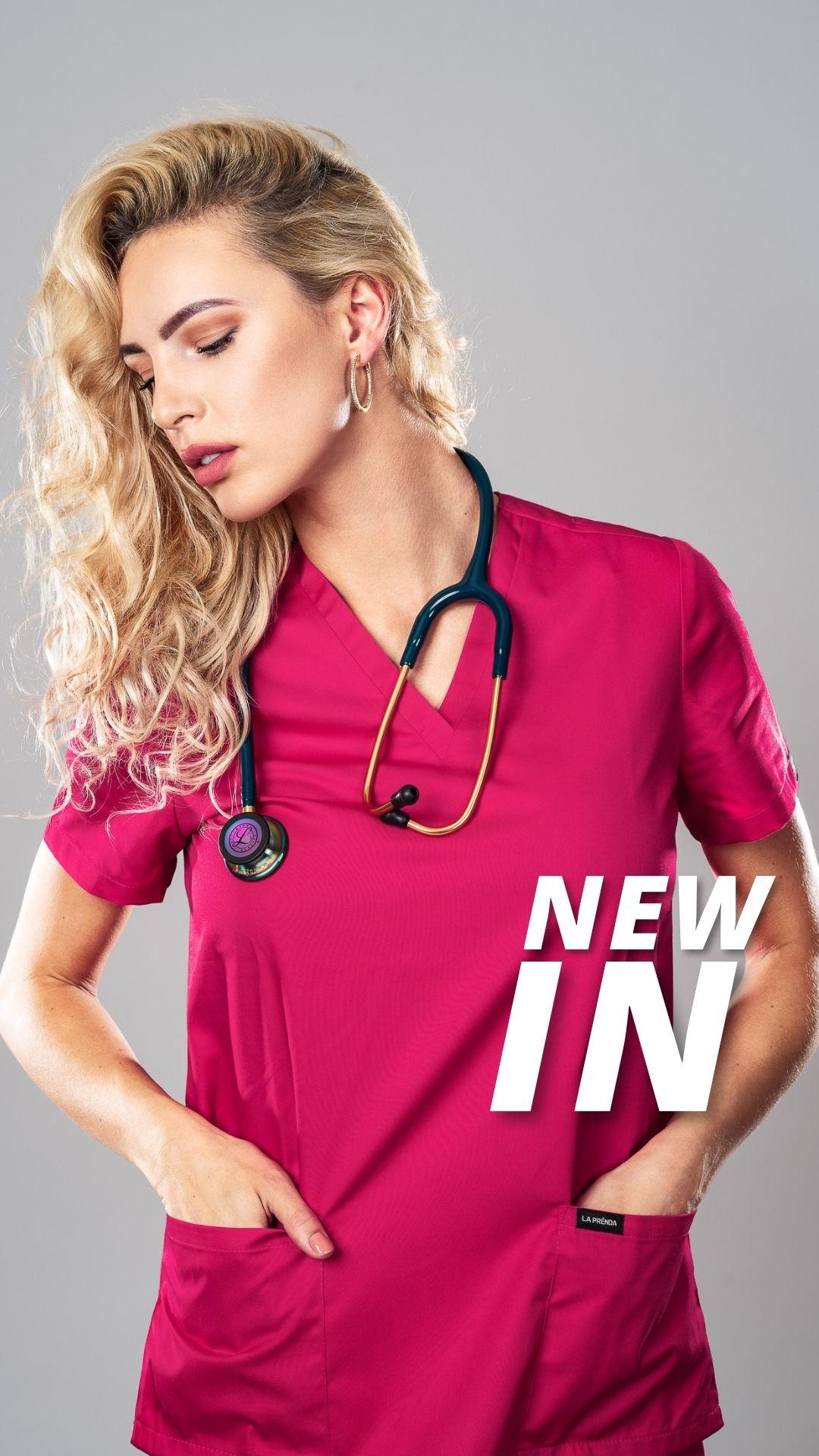Pyjama medical Hot Pink Face 3
