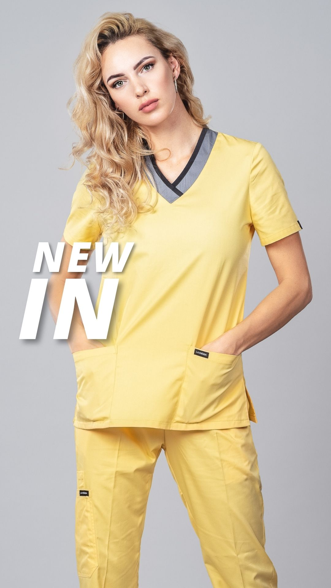 Pyjama medical Canary Face 3