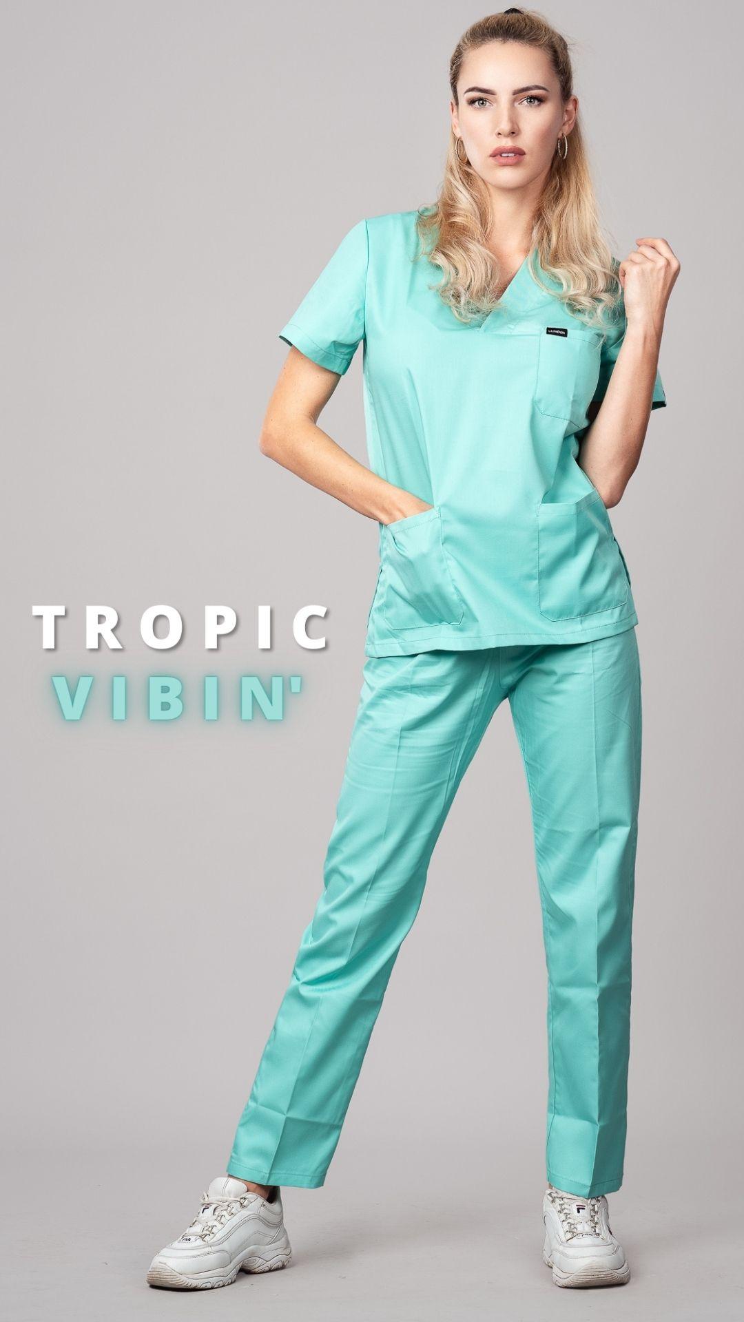 Pyjama medical Caribbean Face 5
