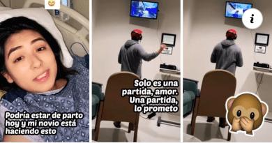 Llevó su Xbox al hospital y se puso a jugar mientras su novia estaba dando a luz