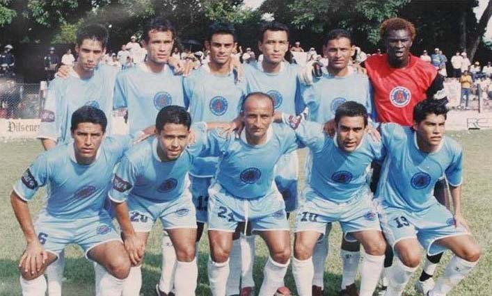 Pedro Reyes, cuando formo parte de Alianza F.C.