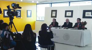 Durante la conferencia de prensa ofrecida por el Consulado General de México en Denver con respecto a la acción ejecutiva recién pronunciada por el Presidente Obama.