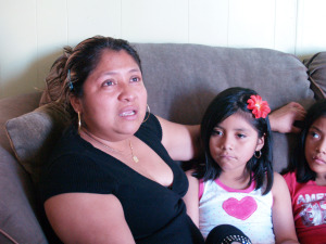 Guadalupe López...lloró de emoción.