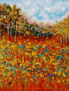 Pintura acrilica de Cristina Mihailescu.