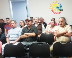 Asistentes al Taller de Ciudadanía. (Fotos: LPDC/Emilio M. Flores).