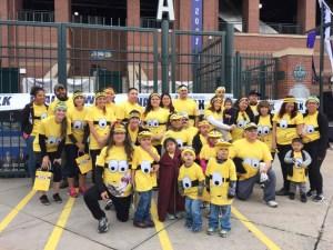 Grupo de participantes en la Caminata del Autismo en apoyo a Pete y Ally's. (Fotos: LPDC).
