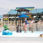 Las dos nuevas atracciones de Water World Turtle Bay Beach y Cowabunga. (Fotos/LPDC Emilio Flores).