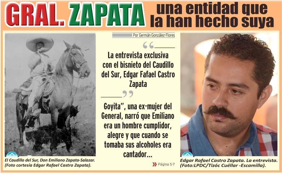 Zapata una identidad  que la han hecho suya