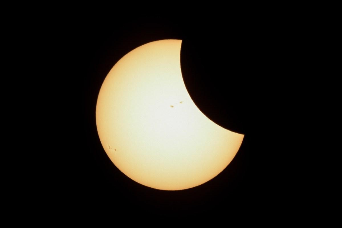 Presenciando el Eclipse Solar del 2017