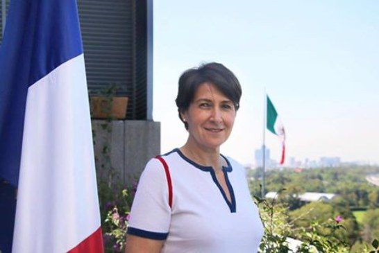 L'Ambassadrice Anne Grillo quitte le Mexique pour le Liban ! (Vidéo)