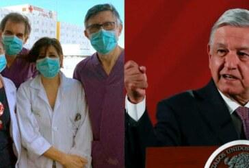 Le président AMLO invite les travailleurs médicaux de +60 ans à rejoindre les hôpitaux !