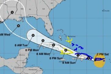 Deux tempêtes tropicales frapperont simultanément dans le golfe du Mexique !