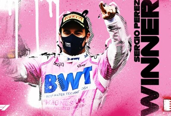 Formule 1 – Le mexicain Sergio Perez remporte son premier Grand Prix ! (vidéos)
