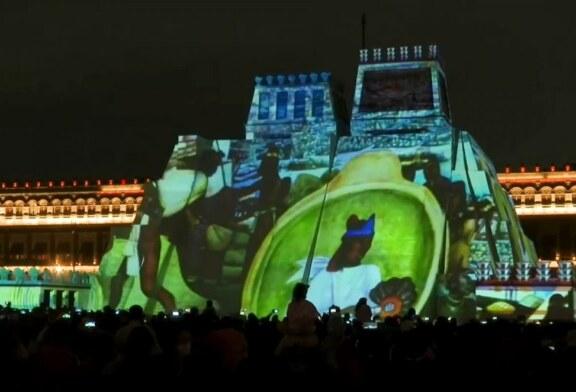 Une réplique du Templo Mayor pour fêter les 500 ans de la «conquista» espagnole ! (Video)