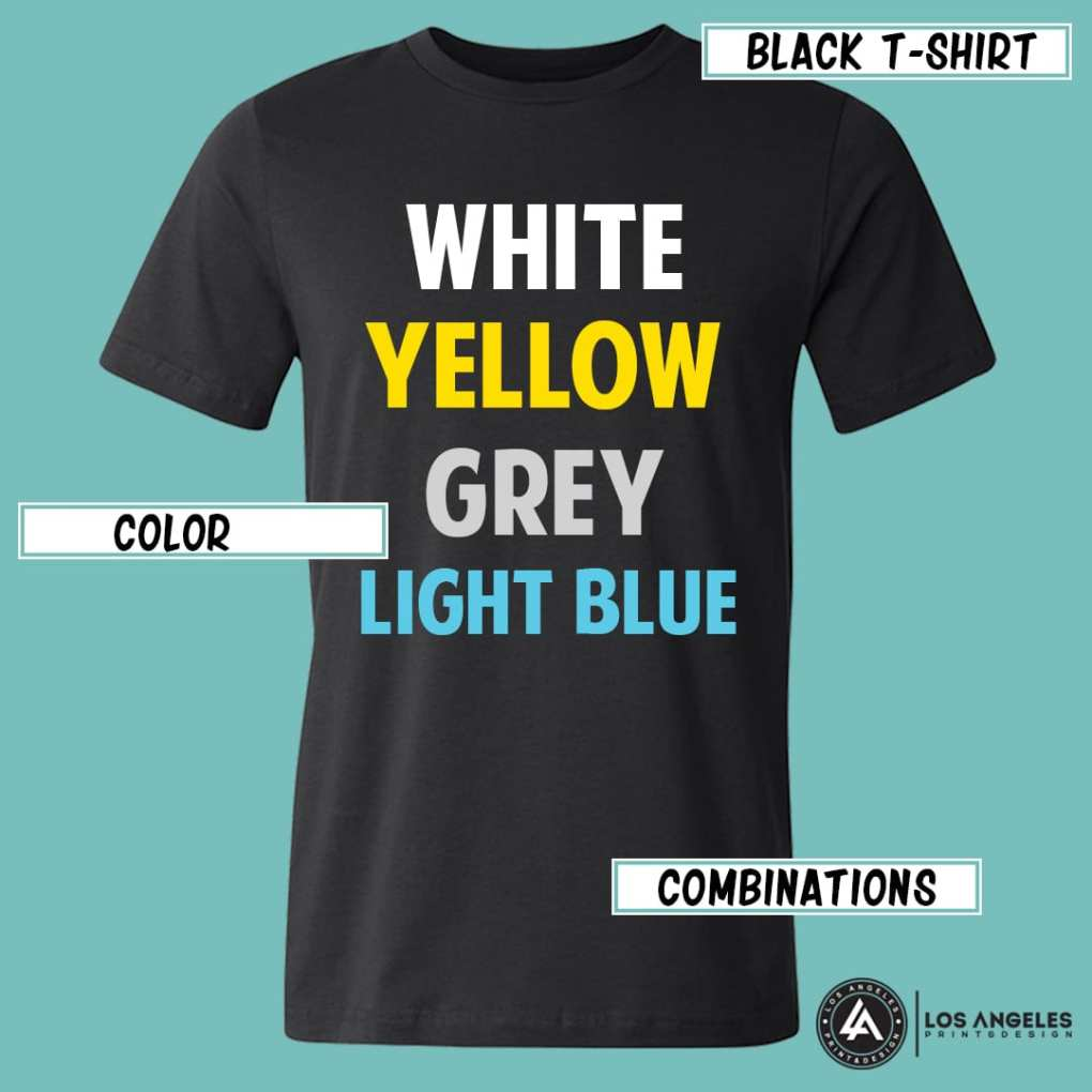 8e38dce0d Choosing the Right T Shirt Color for Printing and Branding