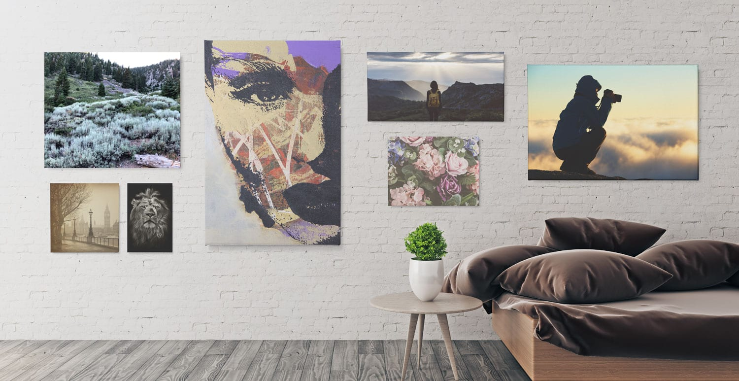 Make today your bitch canvas print by thestylinghouse