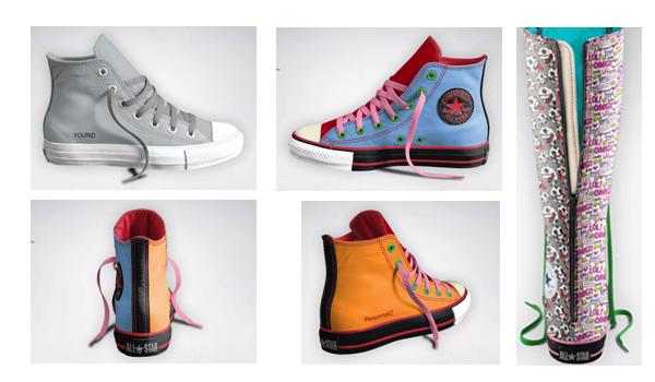 Converse vous laisse personnaliser vos chaussures la