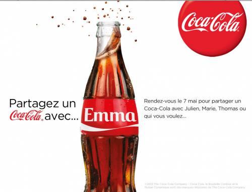 Partage un Coca avec ...