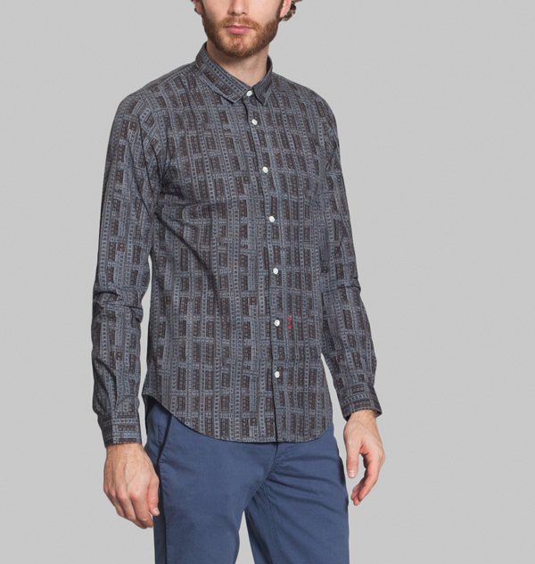 chemise marchand drapied