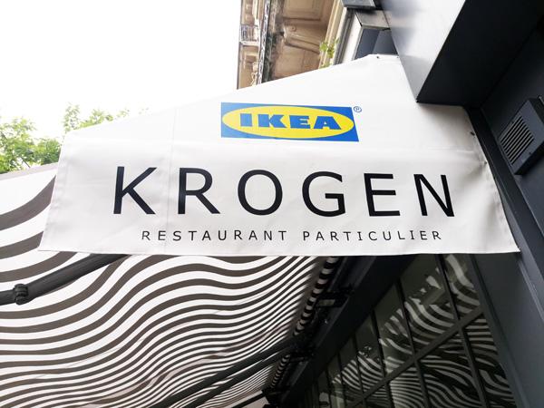 Restaurant éphémère Ikea