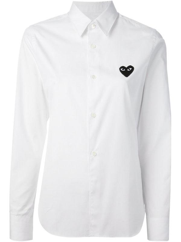 Chemise - coeur - comme des garçons - play
