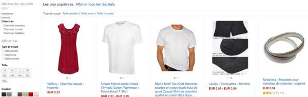 Amazon Mode - Livrée chez vous
