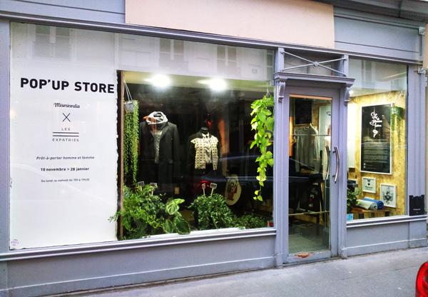 les-expatries-popupstore - 13 rue du cherche midi Paris6