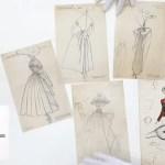 dessin Loic prigent - Christian Dior