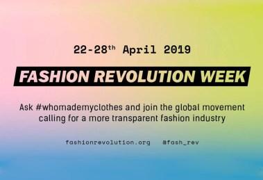 Fashion Révolution 2019