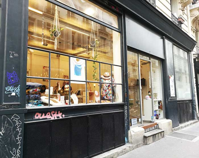les Trésors Sauvages - pop up store Paris