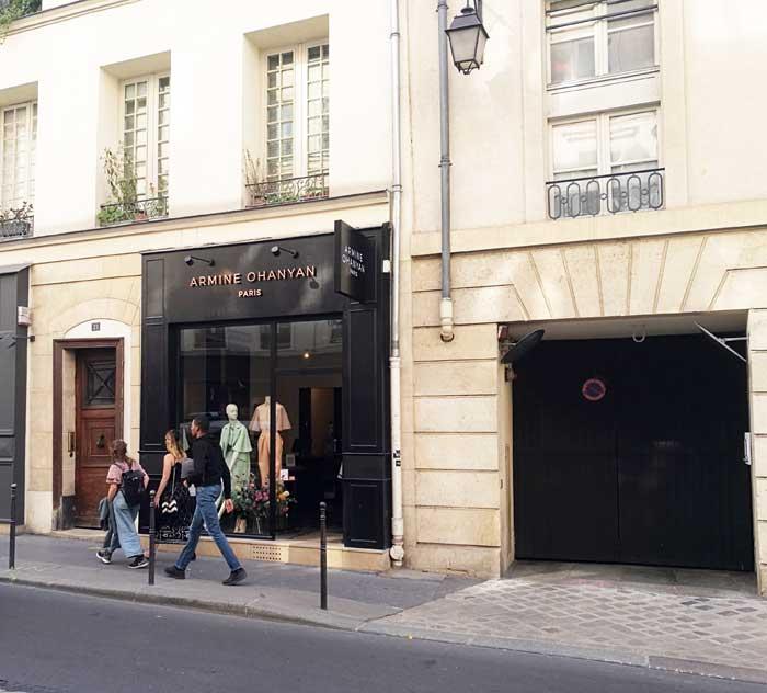 Armine-Ohanyan-Boutique 21 Rue de Turenne, 75004 Paris