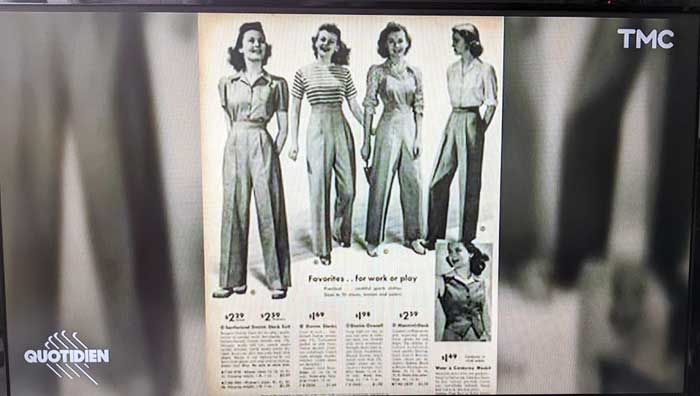 femme - mode 20eme