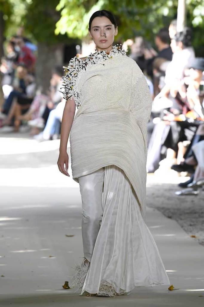 Paris fashion week - Vaishali - Inde - défilé