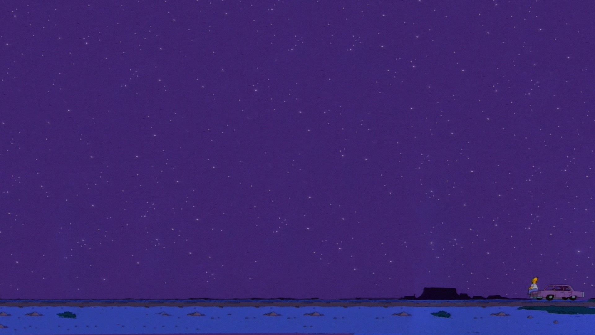 Homer Sitting On Car Wallpaper So It S Come To This A Homer Simpson Profile Part 2