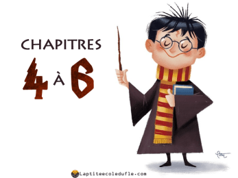 Harry Potter: lecture facile A2 pour enfants.