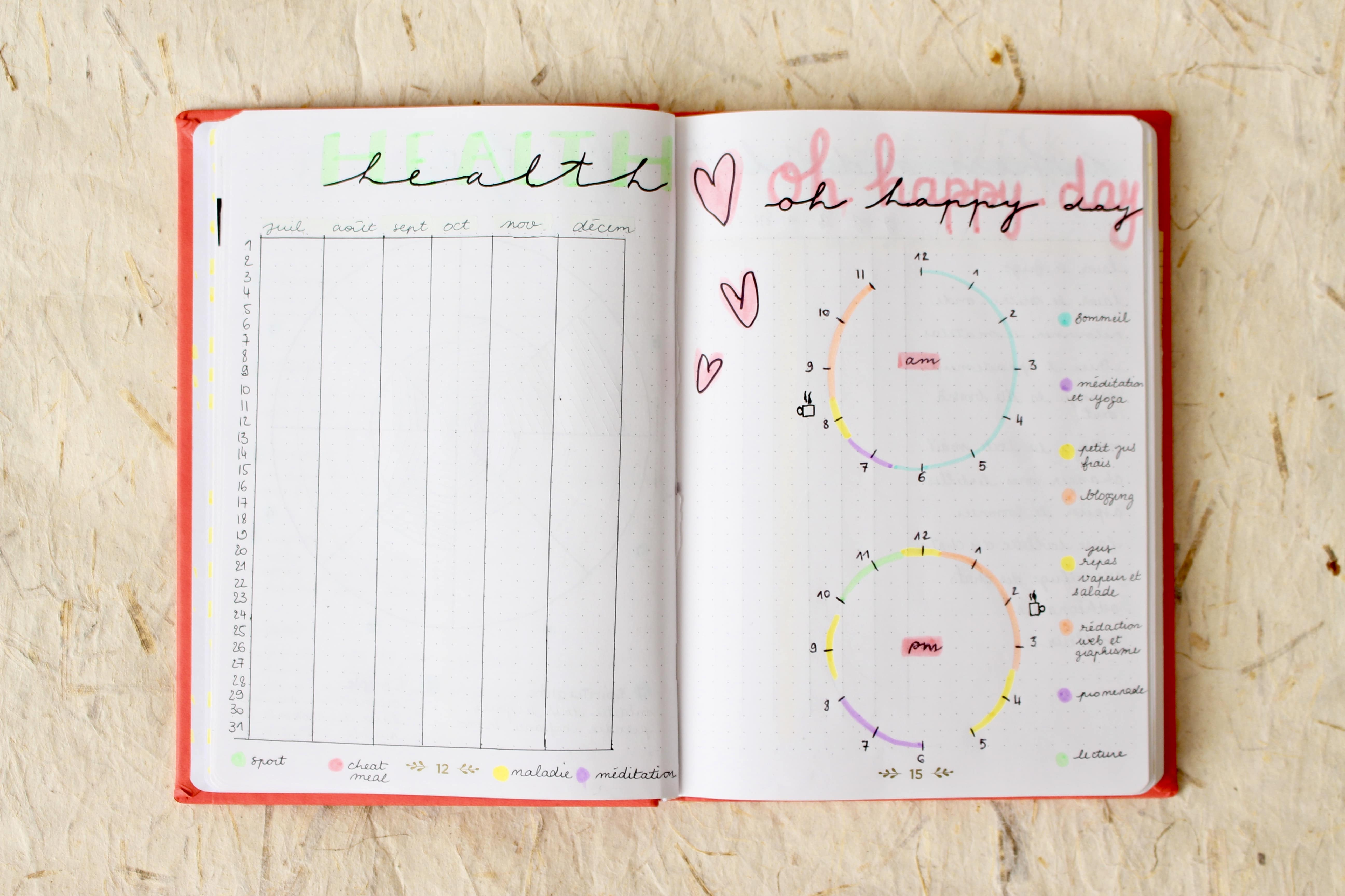 bullet-journal-exemple-healthy-tracker-ideal-day