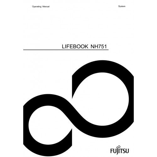 Fujitsu LIFEBOOK NH751 Laptop User Guide Manual Technical